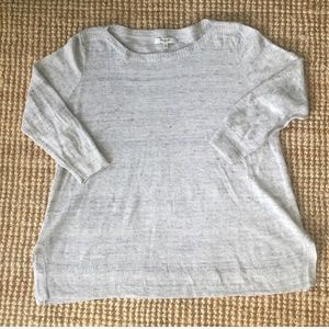 Made well linen sweater top